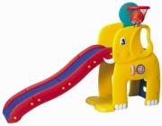 """HNP-715 Горка """"Слон"""" с баскетбольным кольцом Haenim Toys"""