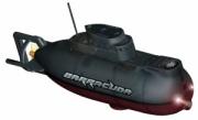 """RC4815 Радиоуправляемая подводная лодка """"Barracuda"""", серая"""