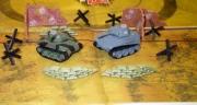 """RC7504 Танковый Бой I - """"Panther и Sherman"""","""