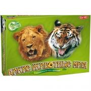 """01864 Tactic Games: Игра с карточками """"Дикие животные мира"""""""
