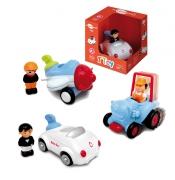 """0431 Игрушка """"Транспортное средство с водителем"""" Bontoys"""