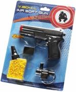0804L Пистолет c лазерным прицелом (6mm пульки) Детское оружие Villa