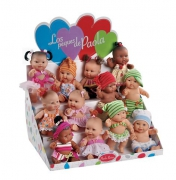10024 Куклы пупсы,22 см 12+12 шт Paola Reina