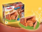1020 Строительный набор «Сарай со свинками» Teifoc