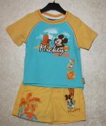 10280 Фуфайка +шорты микки желто/голуб. 2 года.