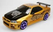 103522 Автомобиль на р/у Nissan Skyline GTR К34 (Street Warriors) Nikko