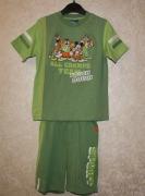 10379 Футболка +шорты зелен. 8,6 лет. Disney