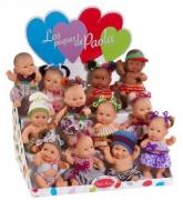 11000 Куклы пупсы, 22см 12шт россыпь в летней одежде Paola Reina