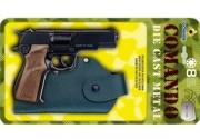 1125/6 Полицейский пистолет 8 пистонов +кобура Gonher
