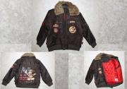 12009 Куртка с мехом коричневая 4, 6 лет Disney
