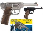 124/6 Пистолет Police черный Gonher