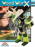 """134121 Набор для творчества """"Робот-Ironshield"""", WoodWorX Colorific"""