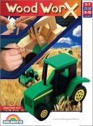 """144588 Набор для творчества """"Трактор"""", WoodWorX Colorific"""