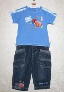 14785 Джинсы +футболка Тачки син. 12,18 мес, Disney