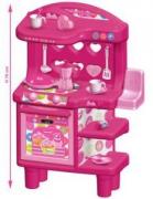 """1566    Кухня  детская  игровая  """"Барби"""" 70см  Faro"""