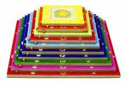16124 Развивающая игра деревянная Пазл в рамке «Пирамида» (от 3 лет) Beleduc