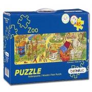 16204 Развивающая игра деревянная Напольный пазл «Зоопарк» (от 3 лет)