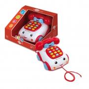 "1631 Игрушка ""Телефон на колесиках"" Bontoys"