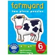 202 Развивающая игра - Пазлы «Ферма» +18 месяцев Orchard Toys