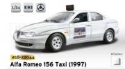 18-22044 Альфа Ромео 156 TAXI Коллекционные модели 1:24 Bburago