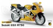 18-51008 Мотоцикл Suzuki GSX-R750 Bburago