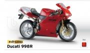 18-51033 Мотоцикл Ducati998R Bburago