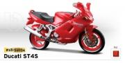 18-51034 Мотоцикл DucatiST4S Bburago