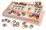 """20424 Игра для обучения счету """"Колечки и палочки"""" GOGO"""