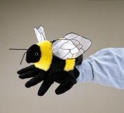 2044 Мягкая игрушка Пчела, 20 см Folkmanis