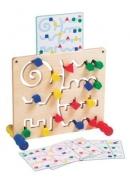 20705 Стенд с цветными геометрическими фигурами GOGO