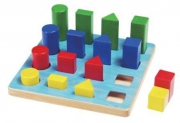 21040 Доска с геометрическими фигурами GOGO