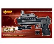 220 Игрушечный пистолет с фонарем Villa
