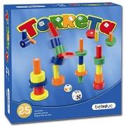 22303 Развивающая игра деревянная Настольная игра «Башенки»