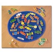 22408 Развивающая деревянная Настольная игра «Конфетки» (от 4 лет)