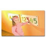 23625 Развивающая деревянная Настенная игра «Цифры от 1 до 5» (о