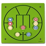 23628 Развивающая деревянная Настенная игра «3 в ряд» (от 3 лет)т)