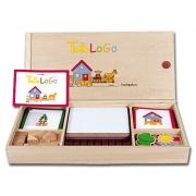 23651 Развивающая деревянная Настольная игра «Топология» (от 4 л