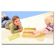23652 Развивающая деревянная Настольная игра «Колышки» (от 4 лет)т
