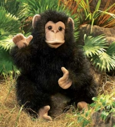 2877 Детеныш шимпанзе, 40 см Folkmanis