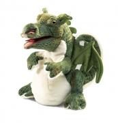 2886 Мягкая игрушка детеныш дракона 28 см Folkmanis