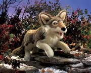2898 Мягкая игрушка Серый волк, 56см Folkmanis