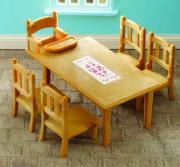 """2933 Набор """"Обеденный стол с 5-ю стульями"""" Sylvanian Families"""