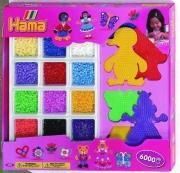 3059 Большой набор бусинок и форм в коробке Hama