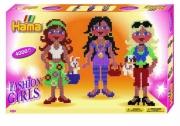 3113 Набор термомозаики НАМА «Модные девочки» в коробке Hama