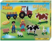 3125 Термомозаика НАМА Набор «Ферма» в коробке Hama