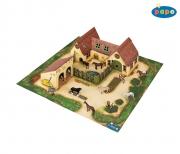 33100 МИНИ ферма и постройки (картон)  Papo