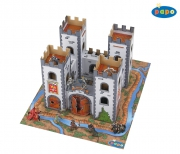 33101 МИНИ средневековый замок (картон)  Papo