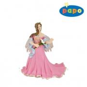 38814 Розовая Эльфа с лилией  Papo