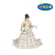 38819 Невеста в кружевном платье  Papo
