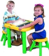 5025 Столик для рисования с подсветкой + 2 стула Growin up